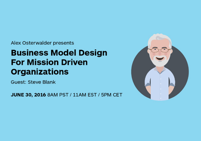 Business Model Designs For Mission Driven Organizations @ Webinar |  |  |