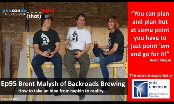 Episode 95 – Brent Malysh of Backroads Brewing