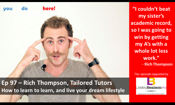 Episode 97 – Rich Thompson of Tailored Tutors