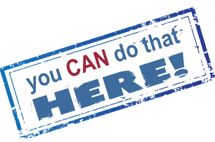 You Can Do That Here Podcast