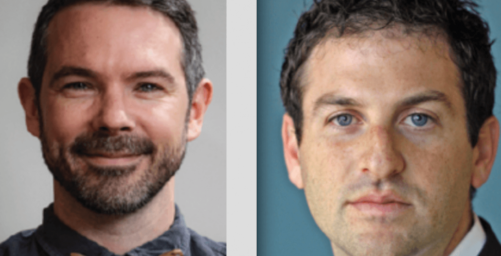 #BCTechSummit Keynote speakers Brent Bushnell and Jared Cohen (#BCTechSummit)
