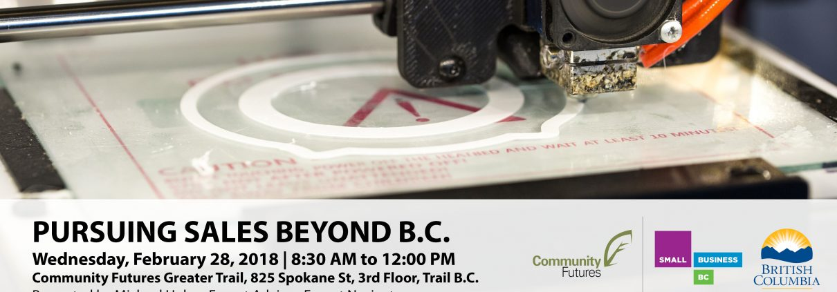 Beyond BC export workshops Trail and Castlegar