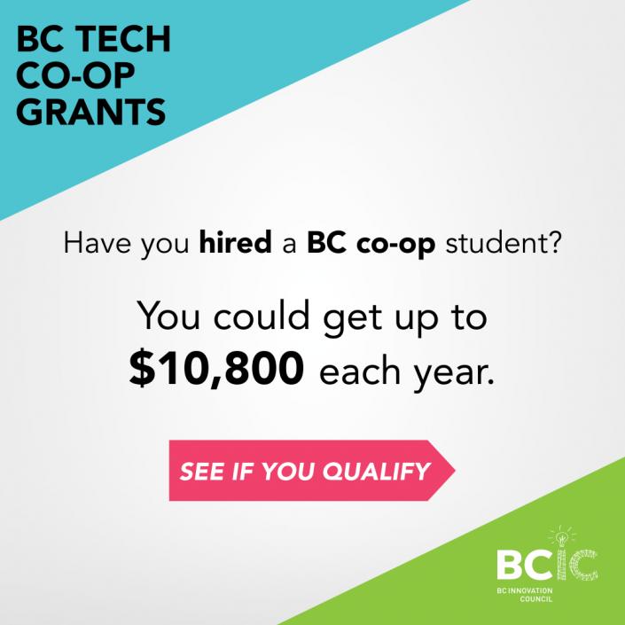 BC Tech Co-op Grants Program