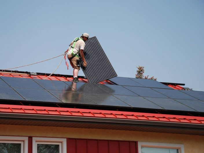 Solar Panels to Power Up in Balfour