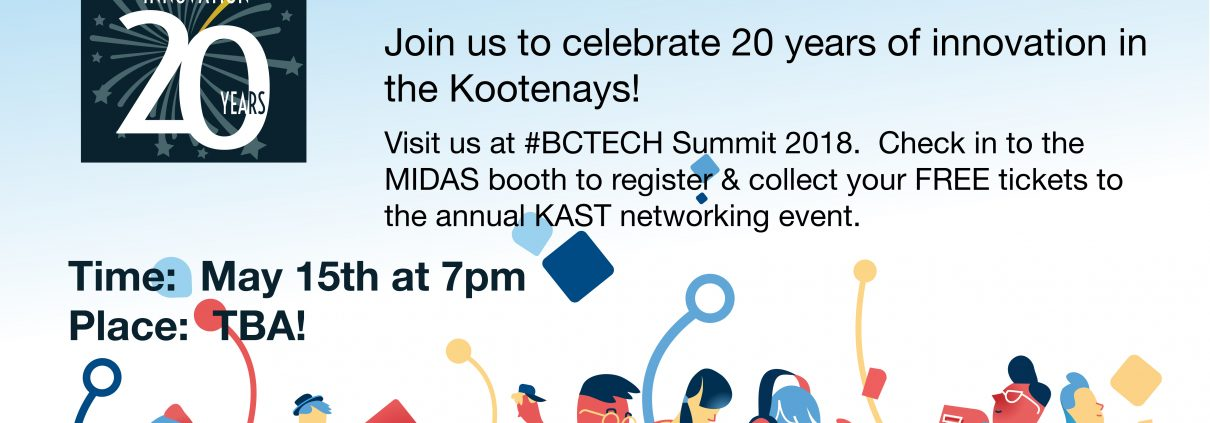 BCTECHSummit gathering 20th Anniversary celebration for KAST