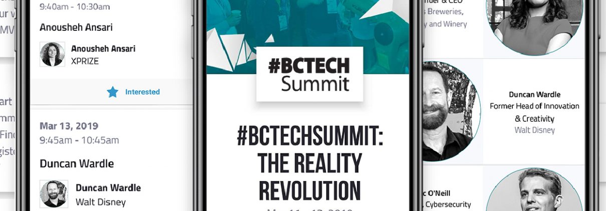 BCTECH Summit Mobile App instagram