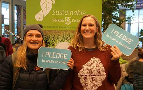 selkirk college sustainability cool campus challenge