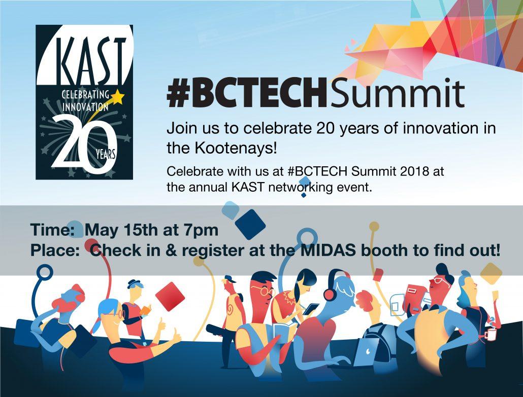 #BCTECH Summit KAST 20th Celebration