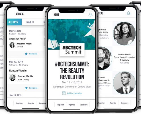 BCTECH Summit Mobile App instagram