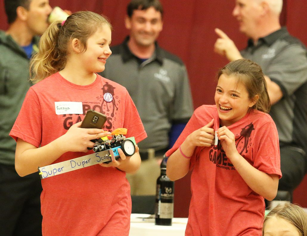 GLOWS Technology Programs for Youth Return to KAST - Robo Games